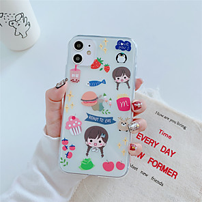 cheap Outdoor IP Network Cameras-Case For Apple iPhone 11 11 Pro 11 Pro Max Eat Little fairy pattern High penetration TPU material Painting process scratch proof phone case