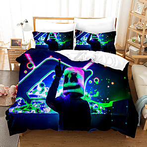 cheap 3D Duvet Covers-Home Textiles 3D Bedding Set  Duvet Cover with Pillowcase 2/3pcs Bedroom Duvet Cover Sets  Bedding Gife