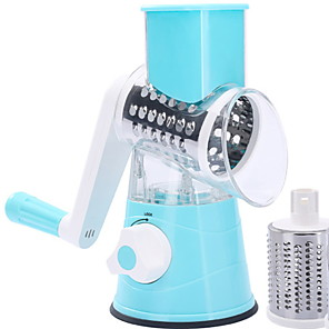 cheap Bathroom Gadgets-Multi-function hand rock tube household nicer dicer quick rotary grater cutter 26*17.5*24cm
