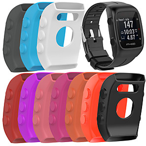 cheap Smartwatch Bands-Silicone Protector Case Cover Shell For POLAR M400 / M430 Smart Watch