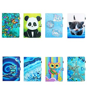 cheap iPad case-Case For Apple iPad Mini 3/2/1/Mini 4 /5 Card Holder/Flip /Pattern Full Body Cases Butterfly/Animal / Panda PU Le For iPad Pro 11'' 2020/New Air 10.5 2019/Pro 10.5/iPad 10.2 2019/iPad Air 2/2017/2018