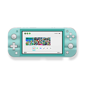 cheap Nintendo Switch Accessories-Nintendo switch lite crystal case switch mini game console transparent protection hard case