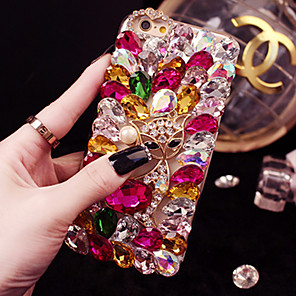 cheap iPhone Cases-iPhone11Pro Max Luxury Shiny Diamond Artificial Gem XS Max Handmade Full Diamond Mobile Phone Case 6/7 / 8Plus Protective Case