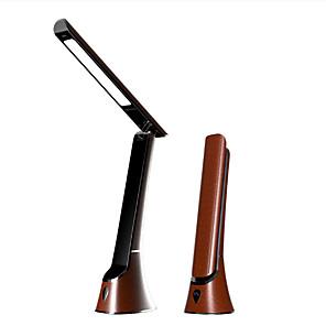 cheap Desk Lamps-Desk Lamp Eye Protection / LED Modern Contemporary USB Powered For Bedroom / Study Room / Office <36V Wood / White / Black