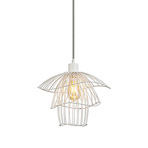 cheap Pendant Lights-35 cm Lantern Desgin Pendant Light Metal Painted Finishes Nature Inspired / Traditional / Classic 110-120V / 220-240V