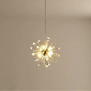 cheap Pendant Lights-QIHengZhaoMing 8-Light 19 cm Single Design Chandelier Metal Electroplated Modern 110-120V / 220-240V