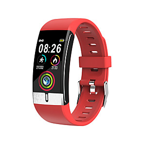 cheap Smart Wristbands-KUPENG KE66 Unisex Smartwatch Smart Wristbands Android iOS Bluetooth Waterproof Blood Pressure Measurement Thermometer Exercise Record Information ECG+PPG Pedometer Call Reminder Activity Tracker