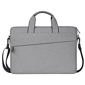 cheap Laptop Bags & Backpacks-13.3 Inch Laptop / 14 Inch Laptop / 15.6 Inch Laptop Shoulder Messenger Bag / Briefcase Handbags Textured / Cities Unisex Waterpoof Shock Proof
