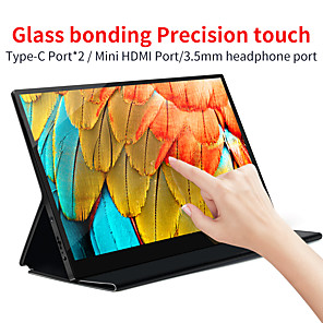 cheap Android Tablets-AOSIMAN ASM-125UCT 12.5 inch IPS Portable Display Monitor 4K Portable