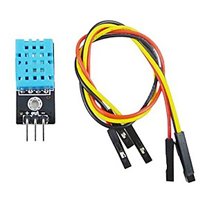 cheap Sensors-DHT11 Temperature and Relative Humidity Sensor Module with R2B7 Cable