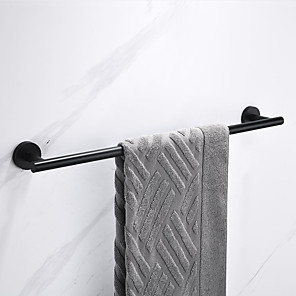 cheap Towel Bars-Towel Bar New Design / Creative Antique / Modern Stainless Steel / Low-carbon Steel / Metal 1pc - Bathroom 1-Towel Bar Wall Mounted