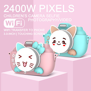 cheap CCTV Cameras-Children's Camera Waterproof 1080P HD Screen Camera Video Toy 28 Million Pixel Kids Cartoon Cute Camera Outdoor Photography kids