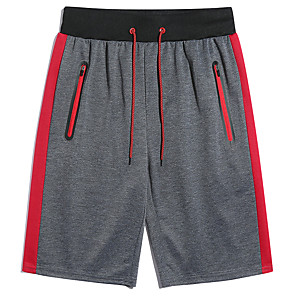 cheap Blood Pressure-Men's Basic Slim Shorts Pants Print Black Red Gray US32 / UK32 / EU40 US34 / UK34 / EU42 US36 / UK36 / EU44
