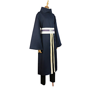 cheap Anime Costumes-Inspired by Naruto Uchiha Sasuke Anime Cosplay Costumes Japanese Outfits Cloak For Men's Women's