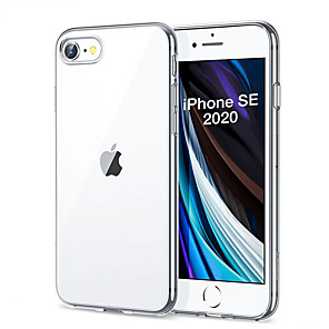 cheap iPhone Cases-Protective case For iPhone SE 2020 case Slim Soft Transparent High Clear TPU Phone Cases For iPhoneSE 2020
