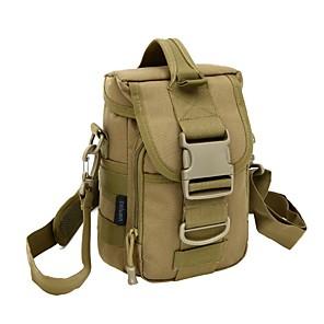 cheap Backpacks & Bags-7 L Armband Hiking Backpack Hiking Sling Backpack Lightweight Rain Waterproof Wearable Outdoor Hiking Climbing Jogging Nylon Camouflage Dark Gray Brown