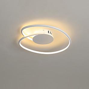 cheap Indoor Wall Lights-53 cm Line Design Flush Mount Lights Metal Modern Style Painted Finishes LED / Modern 110-120V / 220-240V