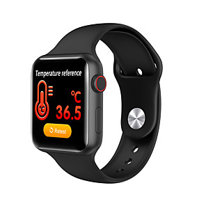 cheap Smartwatches-Full View 1.3' IPS HD Touch Screen Smart Sport Watch Heart Rate Body Temperature Immune Value Monitor Blood Pressure Oxygen.
