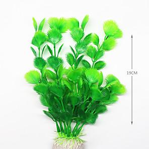 cheap Aquarium & Fish Accessories-Artificial Fake Plastic Water Plants for Fish Tank Decoration Ornament