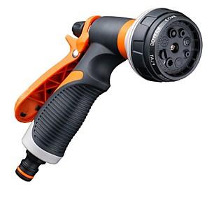 cheap Sprayer Guns-New Plastic Household Garden Watering Spray Gun Garden Shower Gardening Sprinkler Set Amazon Hot