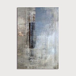 cheap Abstract Paintings-Hand Painted Canvas Oilpainting Abstract Home Decoration with Frame Painting Ready to Hang
