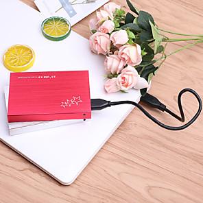 cheap Hard Drive Enclosures-YD0010 USB 3.0 to SATA3.0 External Portable Hard Disk Box Silver/Red