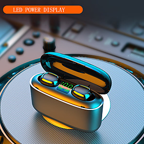 cheap TWS True Wireless Headphones-Imosi 3500mah LED Bluetooth Wireless Earphones Headphones Earbuds TWS Touch Control Sport Headset Noise Cancel Waterproof