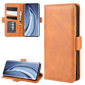 cheap Xiaomi Case-For Xiaomi Mi 10/10 Pro Wallet Stand Leather Cell Phone Case with Wallet & Holder & Card Slots