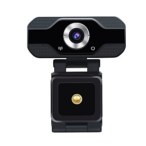 cheap CCTV Cameras-ESCAM PVR006 1080P USB2.0 Web Camera Wide Compatibility Auto Focus Computer Laptop Webcams Camera With Noise Reduction Microphone