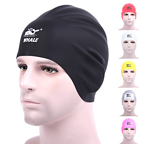 cheap Wetsuits, Diving Suits & Rash Guard Shirts-Swim Cap for Adults Silicone Anti-Slip Stretchy Durable Swimming Watersports