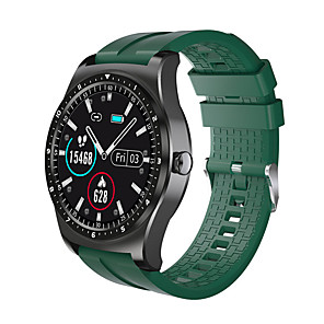 cheap Smartwatches-DM69 Smart Watch For Men Fitness Tracker Blood Pressure Heart Rate Monitor Sports Smart Bracelet PK Huawei GT 2 Smartwatch