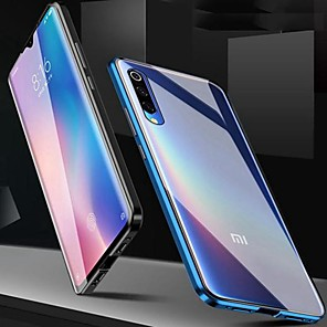 cheap Xiaomi Case-Magnetic Case for Redmi Note 9S / Note 9 Pro/Mi Note 10 Magenetic Adsorption Double Sided Case Transparent Tempered Glass / Case For Redmi 8A / Note 8 Pro /K20 Pro/ Mi 9 SE