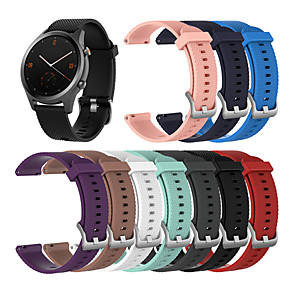 cheap Smartwatch Bands-20MM For TicWatch C2 / Ticwatch 2 / Ticwatch E Silicone Sport Watch Band Strap