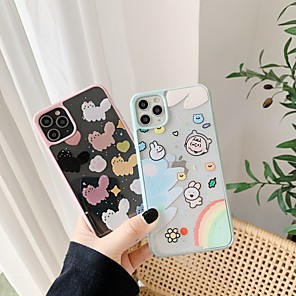 cheap iPhone Cases-Case For Apple iPhone 11 / iPhone 11 Pro / iPhone 11 Pro Max Shockproof Back Cover Cartoon PC