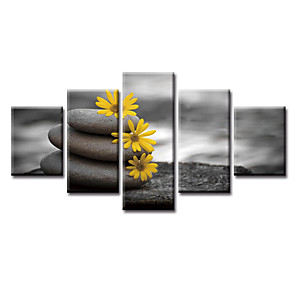 cheap Prints-5 Panels Modern Canvas Prints Painting Home Decor Artwork Pictures Decor Print Rolled Stretched Modern Art Prints Art Prints