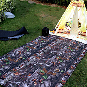 cheap Sleeping Bags & Camp Bedding-Picnic Blanket Outdoor Camping Casual / Daily Safety Convenient Oxford 145*200 cm for 1 Camping / Hiking Picnic Spring, Fall, Winter, Summer Red Navy Blue Camouflage