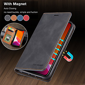 cheap iPhone Cases-Luxury Magnetic Wallet Flip Leather Case For Apple iphone 11 Pro Max SE 2020 XR XS Max X 8 Plus 7 Plus 6 Plus Card Stand Cover
