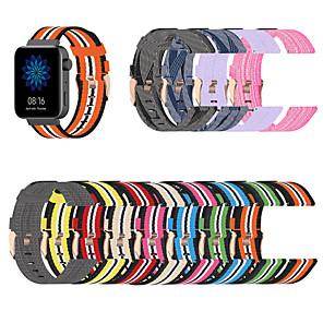 cheap Smartwatch Bands-18mm Watch Band for Xiaomi Smart Watch Sport Band Nylon Wrist Strap