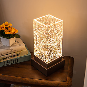 cheap Table Lamps-Table Lamp Multi-shade / LED / Ambient Lamps Modern Contemporary LED power supply For Bedroom / Shops / Cafes Aluminum 200-240V / 110-120V