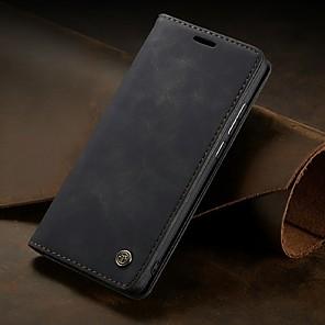 cheap Huawei Case-Caseme Case For Huawei HUAWEI P40 / HUAWEI P40 PRO / P40 lite E Wallet / Card Holder / Flip Full Body Cases Solid Colored PU Leather / TPU