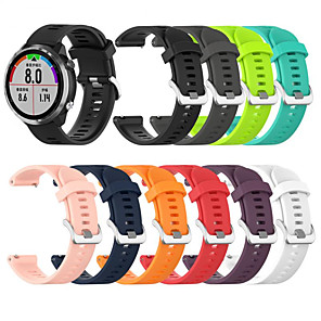 cheap Smartwatch Bands-Silicone Bracelet 20MM Sport Strap Watch Bracelets for Garmin Forerunner 645 Watch