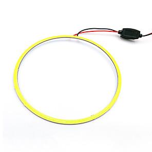 cheap Car Fog Lights-LED COB Angel Eyes Led Halo Ring Car Daytime Running Light Lamp 120mm White Blue 12V 24V DC 2pc