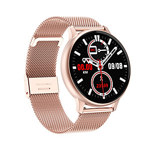 cheap Smartwatches-T88 PLUS Men Women Smartwatch Android iOS Bluetooth Waterproof Touch Screen Heart Rate Monitor Blood Pressure Measurement Calories Burned Stopwatch Pedometer Call Reminder Fitness Tracker Smart Watch