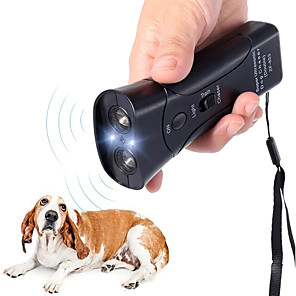 cheap Projectors-New Ultrasonic Dog Chaser Aggressive Attack Repeller Trainer LED Flashlight training Repeller Control Anti Bark Barking