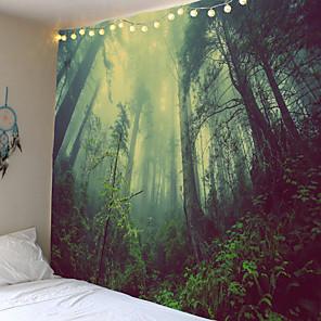 cheap Wall Tapestries-Natuurlijke Landschap Zon Maan Psychedelische Indian Tapijt Muur Opknoping Strandlaken Deken Dorm Boerderij Historische Boho Decor Thuis