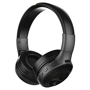 cheap On-ear & Over-ear Headphones-B19 Wireless Headphones Stereo Bass Bluetooth Headset with Premium Audio Radio Earphones