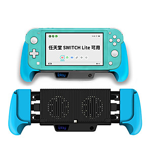 cheap Video Game Accessories-Nintendo switch lite console cooling fan switch universal charging stretch grip 6000MAH