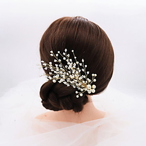 cheap Fascinators-Fashion Cute Fabric Hair Clip with Solid One Pair Birthday   Daily Wear Headpiece