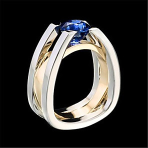 cheap Wetsuits, Diving Suits & Rash Guard Shirts-Couple's Ring 1pc Silver Alloy Daily Jewelry Cute