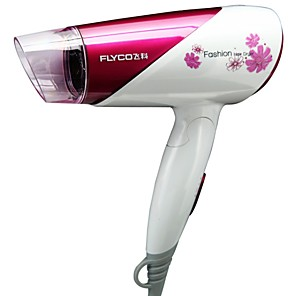 cheap Bath Body Care-Flyco Hair Dryer Household Fh6651 Hair Dryer Negative Ion Foldable 1600w